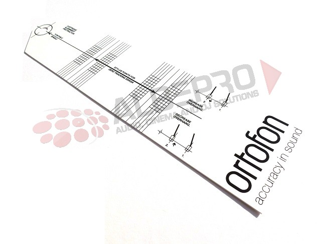 Ortofon Cartridge Element Alignment Protractor Tool