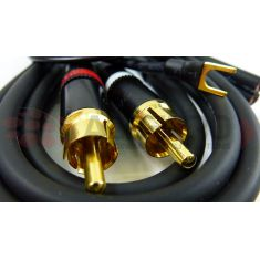 Upgrade Technics MK2 / MK5 High-Fidelity Shielded Signaal kabel (1.25mtr)
